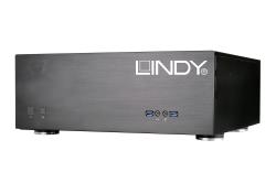 LINDY 8K対応 最大4x4画面 ビデオウォールプロセッサー 前